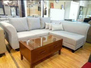 Sofa minimalis cicilan proses 3 menit
