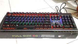 Keyboard gaming mechanical NYK KM 08