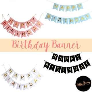 Happy Birthday Bunting 🎈