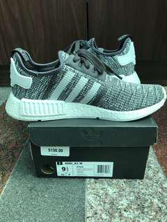 🚚 adidas nmd r1 midnight grey 灰