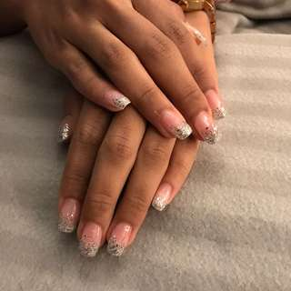 Nail art glitters @$10