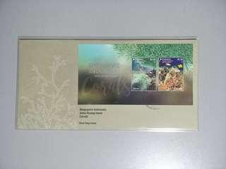 Singapore FDC Corals