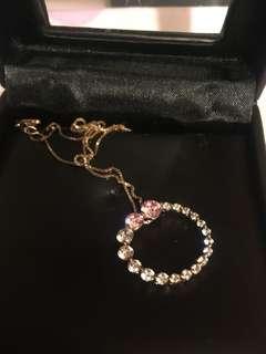 Arte 粉紅鑽石項鏈