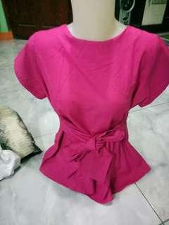 Blouse pink fanta