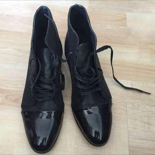 Black Party Wear Boots