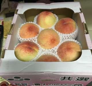 日本山梨露地桃1.2K (7玉)