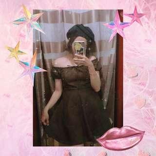 Cute Offshoulder Dress