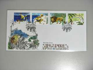 Singapore FDC Myths and Legends