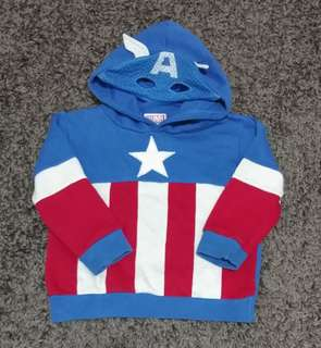Captain America's Hoodie Sweater #July70
