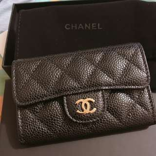Chanel A80799 Small Leathergood  Cardholder/Coinsbag