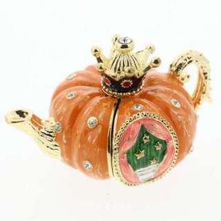 南瓜茶壺珠寶盒