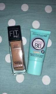 maybeline foundation & bb cream