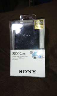 BNIB Sony 20000 mAh Powerbank