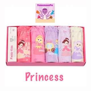 Princess girls panties
