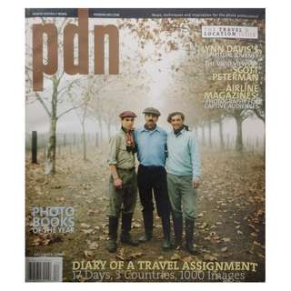 PDN MAGAZINE - THE TRAVEL AND LOCATION ISSUE DEC 2007