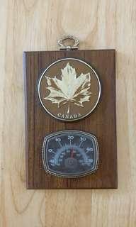 加拿大溫度計擺設掛牌 *自行出價*