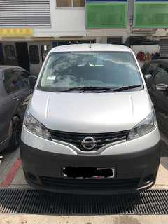 BRAND NEW, Nissan NV200M $1600/Mth. Comprehensive insurance.