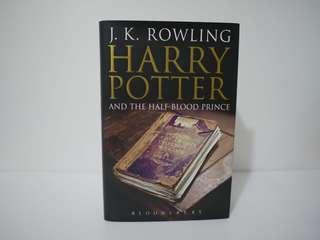 Harry Potter and the half blood prince 硬皮英文版