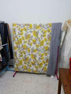Comforter atau alas tilam queen/supersingle
