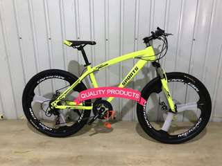 24 Inches Mountain Bike with Sports Mags Wheel Steel