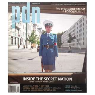 PDN MAGAZINE - THE PHOTOJOURNALISM ISSUE AUG 2007