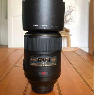 Nikon AF-S VR 105mm f/2.8G IF-ED