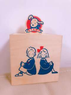 Sanrio Vintage 狗男女儲物木盒(1984年)