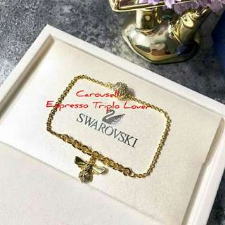 Swarovski Crystal Bee bracelet