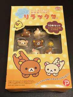 Rilakuma toys 可愛鬆弛熊層層叠拼砌玩具 (9+1)