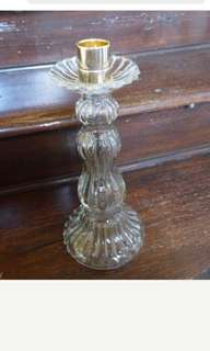 Glass Candle Stick Bottle