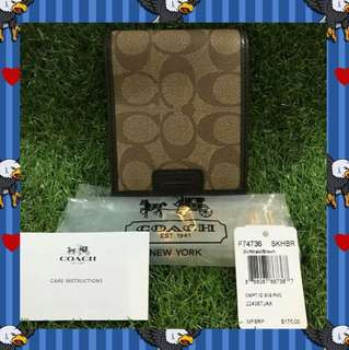 Authentic COACH Wallet for boys 💙
