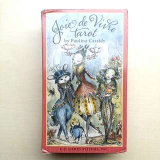 [SALE] AUTHENTIC Joie de Vivre Tarot Deck BY Paulina Cassidy, US GAMES SYSTEMS, Divination, Fortune Telling, ISBN Certified
