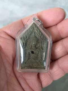 Luang Phor Lp Key - Phra Khun Paen with Phra Ngan - Thai Amulet.