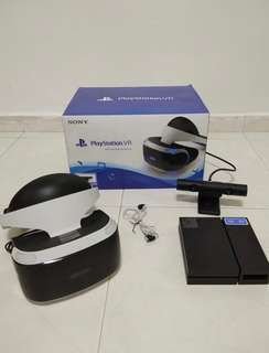Playstation VR (PS virtual reality) headset full mint