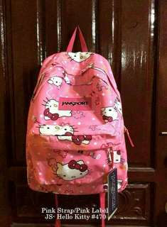 HELLO KITTY JANSPORT BAG