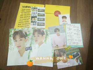 Wanna One Park Ji Hoon Innisfree Goods SET