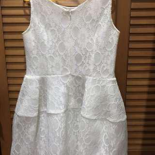 Carla Dress White