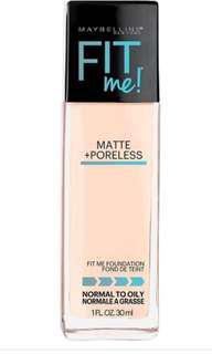 Maybelline fit me foundation #112 號色