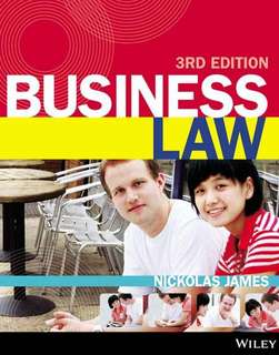 RMIT LAW2446 Commercial Law textbook + notes