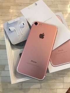 Unlocked iPhone 7, Rose Gold 32GB