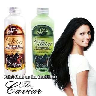 Paket Rambut Caviar [ Shampoo + Conditioner ] BPOM Original