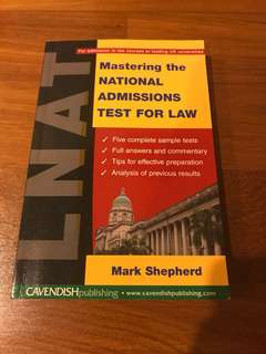 LNAT mastering the national admissions tests for law