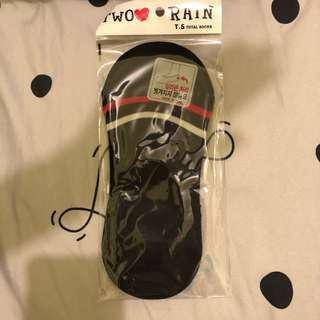 🚚 黑色條紋造型隱形襪 襪子 韓國帶回🇰🇷
