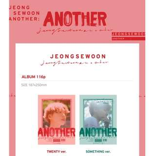 [PREORDER] 정세운 Jeong SeWoon - ANOTHER / 2ND MINI ALBUM