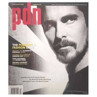 PDN MAGAZINE - THE PORTRAIT AND FASHION ISSUE FEB 2008