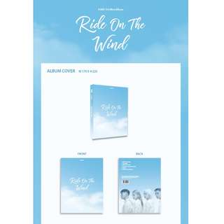 [PREORDER] 카드 (KARD) - RIDE ON THE WIND (3RD Mini Album)
