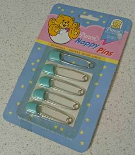 Safety pin for babies