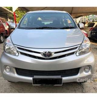 2013 Toyota Avanza 1.5 E (A) One Owner Low Mileage-27K KM only