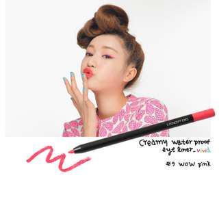 快閃 Flash Sale!  3CE  Creamy Water Proof Eye Liner (#9 Wow Pink)