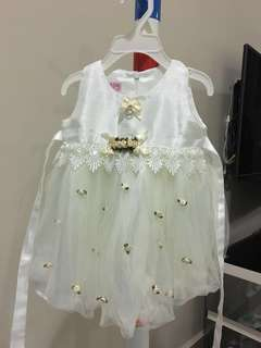 LOVELY LACE Baby Girl Dress